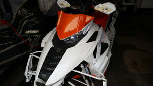 """Two 2012 Artic Cats XF-1100 146"""" snopro 50th. Annivery edition"""