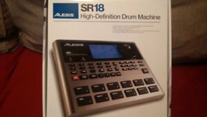 Alesis Sr-18 High-Definition Drum Machine