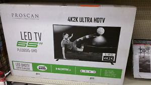 65 in LED 4K TV