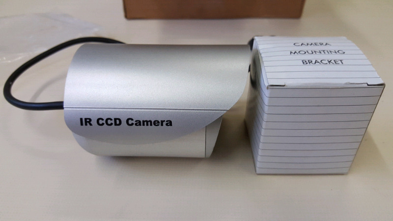 CCTV Camera Outdoor 3.6 20m IR New