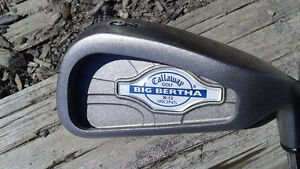Big Bertha X-12 # 3 iron / steel shaft