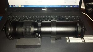 Opteka 420-800mm f/8.3 HD Telephoto Zoom Lens for Sony Alpha SLR
