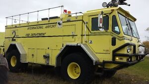 Waltek ARFF Airport Crash Truck 4x4, allision automatic, Fire