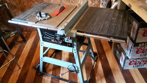 "Delta XL 10, 10"" table saw. 24"" rip capacity"