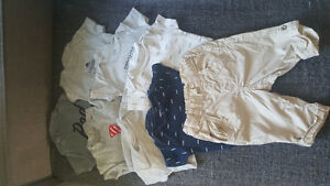 Carter's baby boy short sleeve bodysuits
