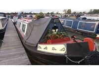 40', all steel, Liveaboard Narrowboat for sale with mooring