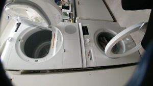 Bosch stackable washer and dryer combo!!!