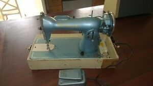 Moving - Anitique Peidmont Electric Portable Sewing Machine