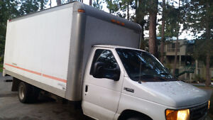 2004 Ford E350 cube van for sale