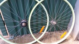 FIXIE / SINGLE SPEED BICYCLE WHEEL SET