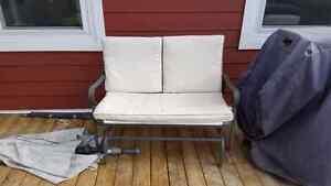 Glider bench