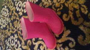Toddler rain boots size 9