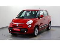 2015 Fiat 500L 1.4 Lounge (95bhp) Petrol red Manual