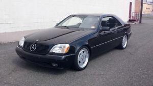 1996 Mercedes-Benz CL-Class Coupe (PART OUT)