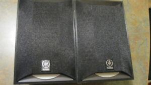 Yamaha NS AP6500S Mini Bookshelf Stereo Speakers Pair