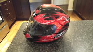 HJC mototcycle helmet - Size Large