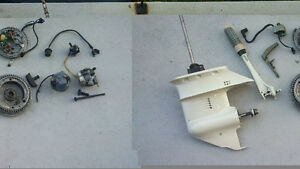 Pieces de 9.9 Johnson et 15 Forces Evinrude
