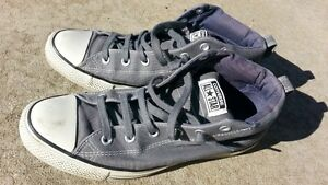 $20 Converse All Star Chuck Taylor GRAY __9 ½ US; 9 ½ UK; 43 EUR