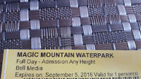 Magic Mountain Waterpark Moncton Tickets Full Day Admission