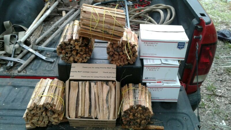 Fat Lighter Wood Kindling 10 pound bundle. $15.00 Beat the rush & order now