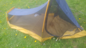 Colman 1 man tent....or one man small woman.