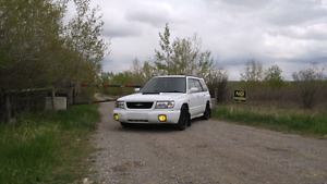 Forester stb with lots of goodies (low km)