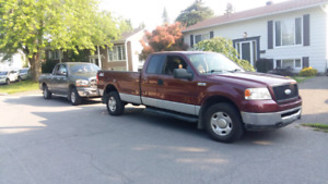Ford f150 xlt 4x4 2006 heavy duty Échange 5000$
