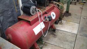 Heavy Duty Compressor, 3 cylinder, large tank
