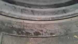 Winter kumho tires with rims  Prince George British Columbia image 2