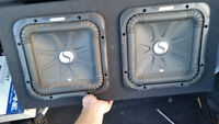 Gently used subs and brand new amp need gone asap