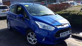 2014 Ford B-Max 1.4 Zetec 5dr Manual Petrol Hatchback
