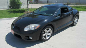2007 Mitsubishi Eclipse Coupe, Auto, 3 years warranty availabel.