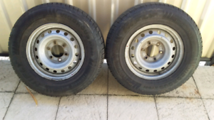 """2 only 16"""" Toyota stud pattern rims East Cannington Canning Area Preview"""