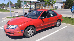 2004 Pontiac sunfire 2000 or best offer.