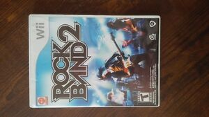 RockBand 2 for Wii.