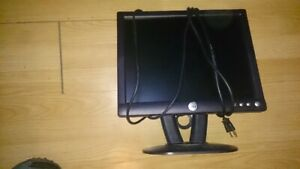 15'' Dell Computer Monitor (VGA & power cord included)