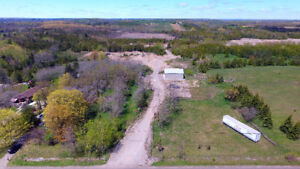 93.55 AC PROPERTY CURRENTLY BEING USED AS A LICENSED GRAVEL PIT