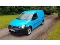 Volkswagen Caddy Maxi 1.6 TDI 102PS C20 Maxi 13 REG 83K DIRECT BRITISH GAS