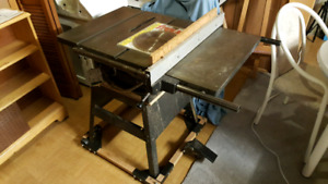 "Rockwell 10"" Professional Table Saw on Delta Mobile Base"