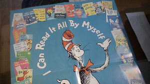 """Dr. Seuss. Poster """"can read it all by myself"""""""