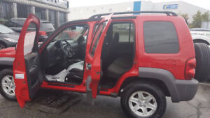 2002 Jeep Liberty Sport SUV, Crossover 2999.00 plus hst and lic