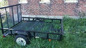 4x6 utility trailer with ramp