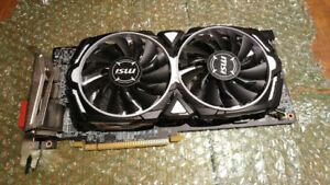 MSI AMD Radeon RX 580 OC Armor