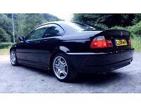 BMW ///M-Sport 2004 2L manual 12MOT FSH stunning sapphire black 320 325 330