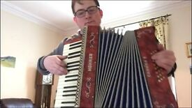 accordion player for hire