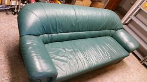 Leather Sofa & Loveseat - Excellent Condition