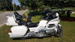 Mint Condition White Honda Gold Wing for Sale