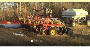 Bourgault 6800 Cultivator and 2130 Tank