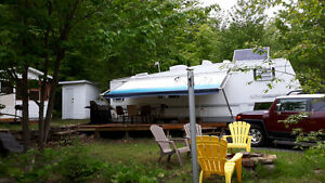Fifth wheel/camping baie Martin /Mauricie / lac des piles