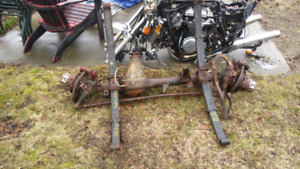 Toyota truck early 4 runner solid front axle
